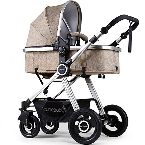 Learn More About Newborn Baby Stroller Pram Stroller Folding Convertible Carriage Luxury Bassinet Se...