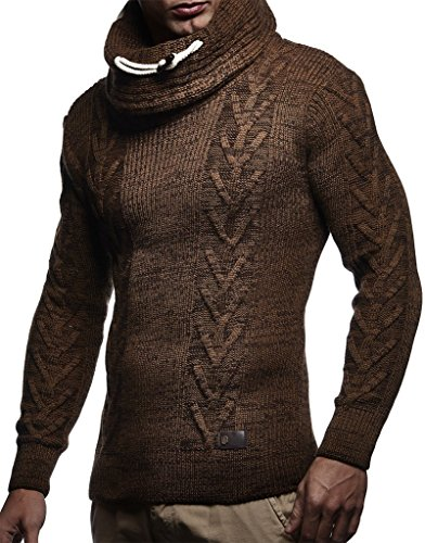 Scarf With Turtleneck Sweaters Men