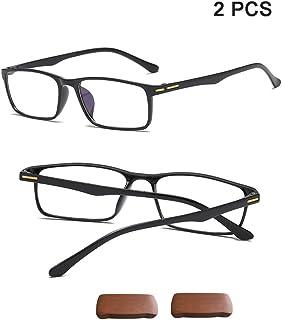 9a0aed74a3 DLDL Gafas para presbicia Luz Azul Que bloquea el Marco TR90 Ultraligero  Gafas de Lectura para