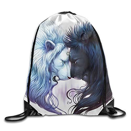 Jiger Fricstar New Drawstring Backpack Black Red Rose Art Design Print Drawstring Backpack Rucksack Shoulder Bags Gym Bag