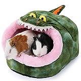 JanYoo Conejo Rata Hideout Cama Cabaña Rata Accesorios Cubo Igloo Casa Hideaway Sleeper