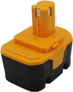 comprar comparacion KINSUN Reemplazo Herramienta Eléctrica Batería 14.4V 2.0Ah Para Ryobi Taladro Inalambrico Destornillador 130224010 1302240...