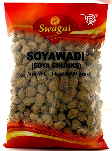 Swagat Soya NEW before selling Sale special price Wadi Chunks 400 - oz gms 14