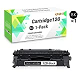 1 Pack (Black) Cartridge 120 Series Toner Cartridge Replacement for Canon imageCLASS D1550,D1520,D1500,D1300,D1180,D1170,D1150,D1120,D1100,i-Sensys MF6680 Printers,Sold by TmallToner.