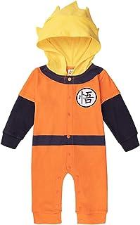sibaway | Body Bébé Manga Super Hero | Pyjama garçon | Déguisement Dragon Ball | Costume Original et Rigolo | 100% Coton