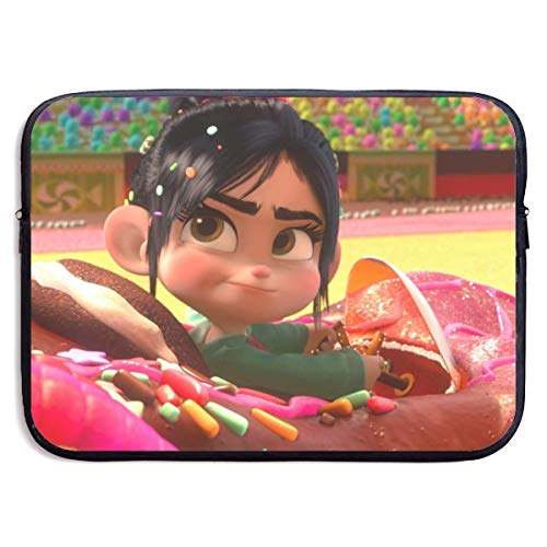 Hdadwy Wreck It Ralph Laptop Sleeve Bag Tablet Fashion Briefcase Ultra Portable Protective Cover, MacBook Air, MacBook Pro, Notebook Computer Sleeve Case 15 Inch
