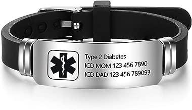 fine jewelry medical alert bracelets