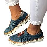 ZBYY Zapatos de lona para mujer, transpirables, casuales, planos, suelas de goma, zapatos de lona para verano