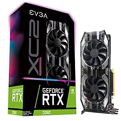 EVGA GeForce RTX 2080 XC2 Ultra Gaming, 8GB GDDR6, iCX2 & RGB LED 08G-P4-2187-KR