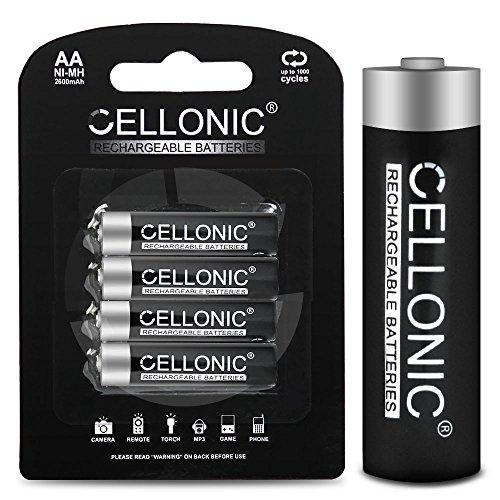 CELLONIC Batería Premium Compatible con Philips Avent SCD560, SCD501, SCD580, SCD585, SCD503, SCD525 Unidad Bebés, SCD502, SCD713, SCD735, SCD506, SCD723, SCD715, 4x2600mAh Pila Repuesto bateria