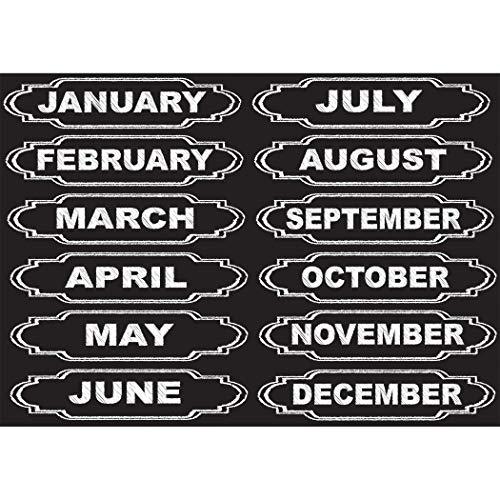 magnetic calendar numbers - 8