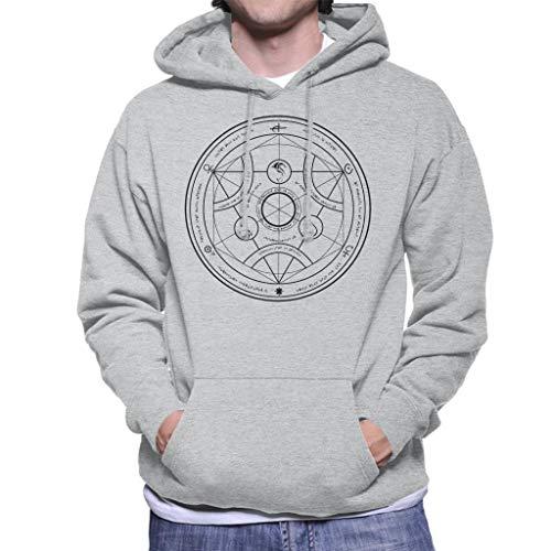 Valyrian Fire Alchemy Black Game of Thrones Men's Hooded Sweatshirt