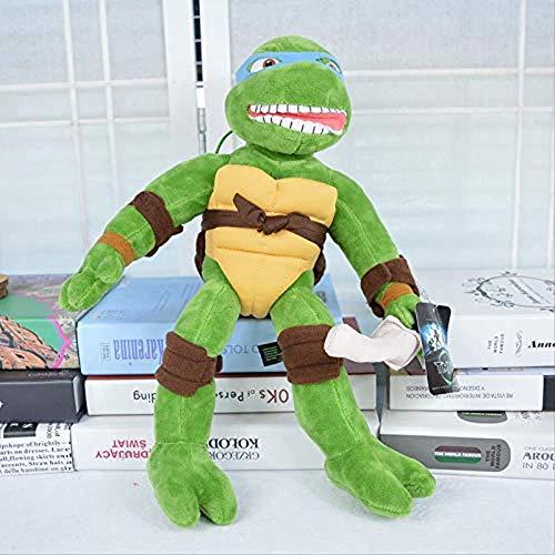Frofwc Juguetes de Peluche, Variabilidad Adolescente Ninja Tortuga Peluche Turtle Turtle Muñeco Juguete Niños Cumpleaños Regalo 40 cm Doble Felicidad