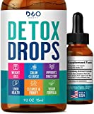 Detox Drops - 14 Day Cleanse for Colon and Digestion - Reduce Bloating, Liver and Kidney Detox, with Full Body Repair and Cleanse- for Men and Women