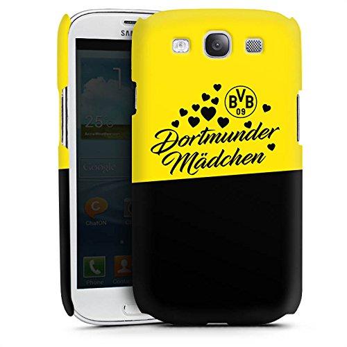 DeinDesign Premium Case kompatibel mit Samsung Galaxy S3 Neo Smartphone Handyhülle Hülle matt BVB Borussia Dortmund Dortmunder Mädchen