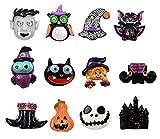 NIGHT-GRING 12PCS Halloween Dekorationen Kühlschrank Magnete Büro Magnete Halloween Kühlschrank...