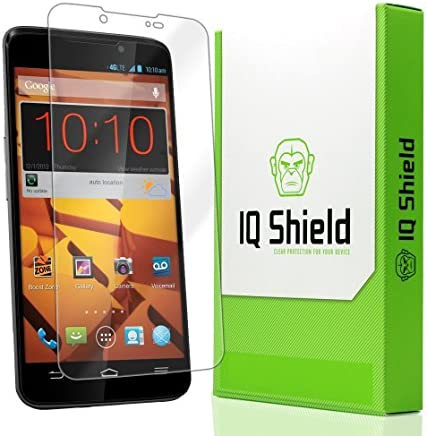 IQ Shield LiquidSkin - ZTE Boost Protector de pantalla Max - Alta Definición (HD)
