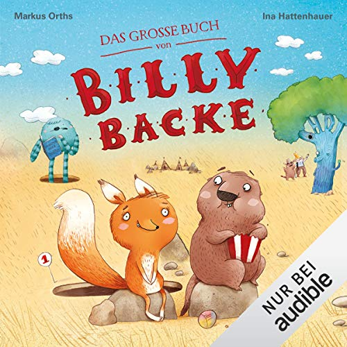 Das große Buch von Billy Backe Titelbild