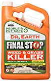Dr. Earth 8012 Fiskars Machete (24') Final Stop Ready-to-Use Natural Herbicide, 1 Gallon, Brown/A