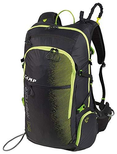 Camp Ski Raptor Schwarz, Snowboard-Rucksack, Größe 30l - Farbe Black - Lime