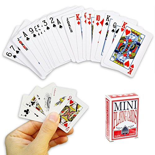 OOTB Mini Spielkarten - 54 Karten Reisespiel , Poker ...