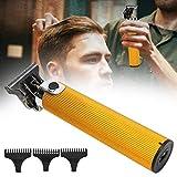Tagliacapelli elettrico professionale, taglierina tagliacapelli salone di ricarica USB, macchina per taglio capelli con pettini di limite 3 pezzi per barbiere (1/2/3mm)(01)