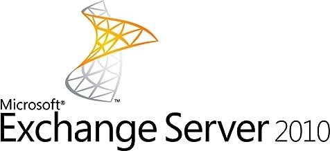 MS Exchange Server 2010 Standard con 5 CAL (Licencia de acceso de cliente) - Inglés- Solo para uso académico