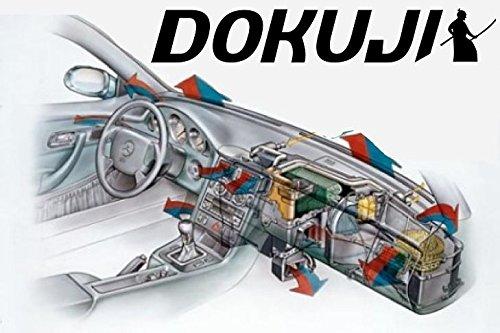 HIPOL DOKUJI Klima-Samurai!!! - Passend für Mercedes CLK W-208 effektives Mittel zur Reinigung, Desinfektion und Erfrischung von Fahrzeugklimaanlagen. Geruch: Fresh Intensive Oder New Car7
