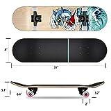 Zoom IMG-1 funxim skateboard standard per bambini