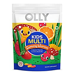 professional OLLY Kids Multivitamin Gum, Essential Vitamin and Minerals A, C, D, E, Bs and Zinc, Acidic …