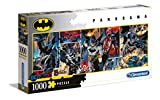 Clementoni- PZL 1000 Panorama HQC Batman Puzzle Adulto, Multicolor (39574)