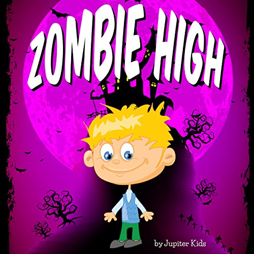 Zombie High audiobook cover art