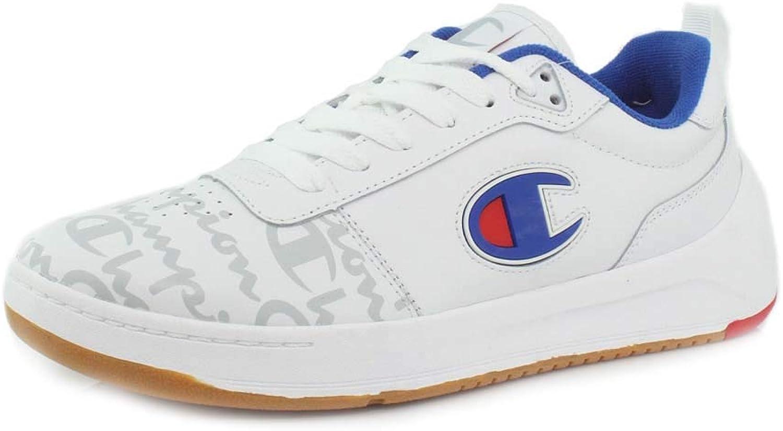Champion Mens Super C Court Low Print Sneaker