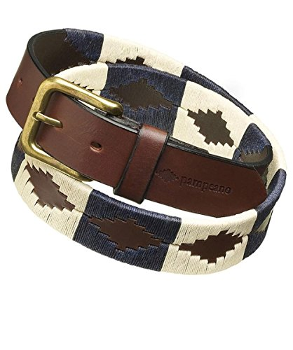 Pampeano ceinture de Polo en cuir Juget 36 Bleu