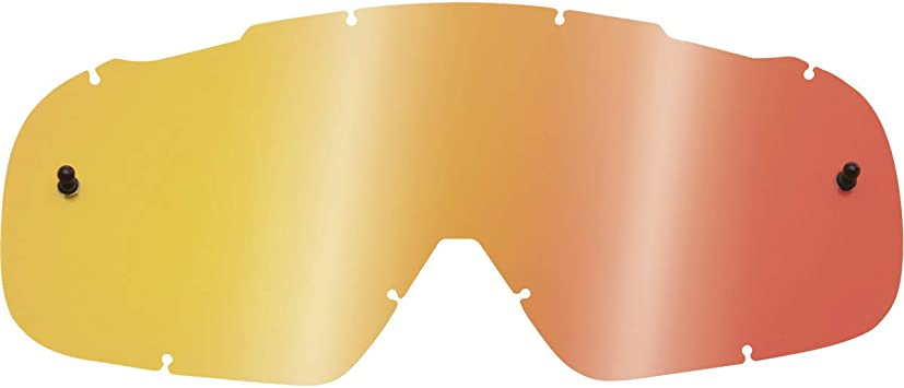 Fox Racing Mens AIRSPACE//MAIN MX20 LEXAN LENS-NM Dark Grey, One Size
