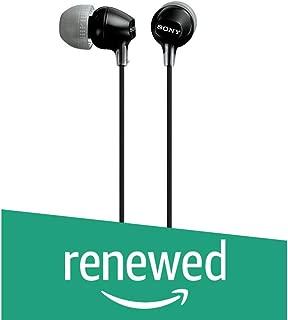(Renewed) Sony MDR-EX15LP in-Ear Headphones (Black)