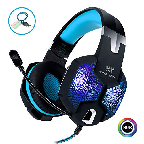 Stereo Gaming Headset with Mic for PC PS4 Xbox One Nintendo Switch,Lightweight Over Ear...