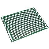 BeMatik - Panello PCB di prototipo di Circuito Stampato per Saldatura bifacciale 7x9cm