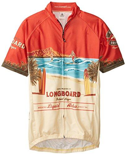 CANARI Herren Kona Brauen Longboard Jersey Medium Mehrfarbig