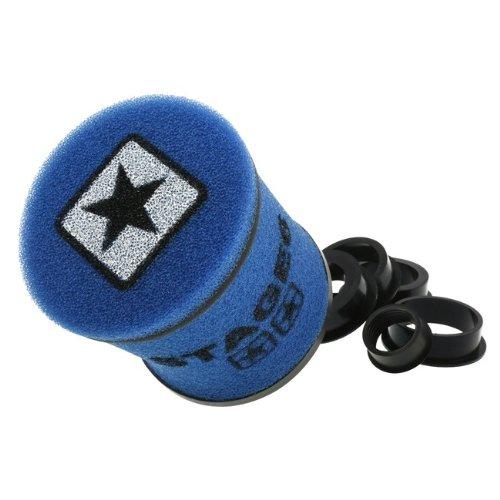 Racingluftfilter Stage6 Double-Layer KLEIN, AirBox, blau, 28mm + 35mm + 42mm + 45mm + 49mm + 55mm Anschluss