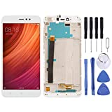 QINGFUHANG Repair Parts LCD Screen and Digitizer Total Assembly with Frame for Xiaomi Redmi Note 5A Quality/Remdi Y1(Black) Phone Replacement Set (Color : White)