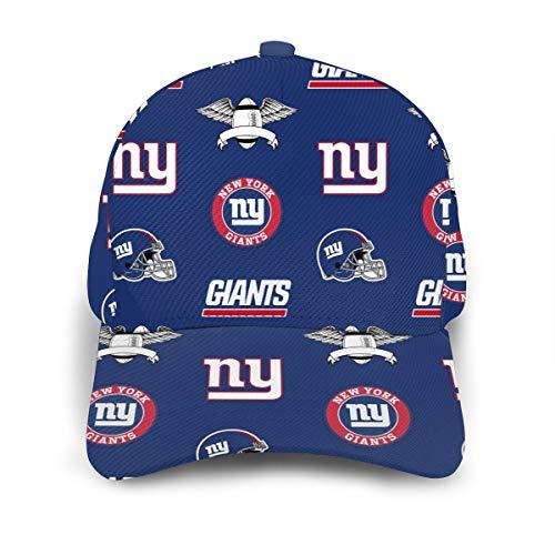 New York-Giants Adjustable Baseball Caps Sandwich Peaked Hats Casquette for Football Fans