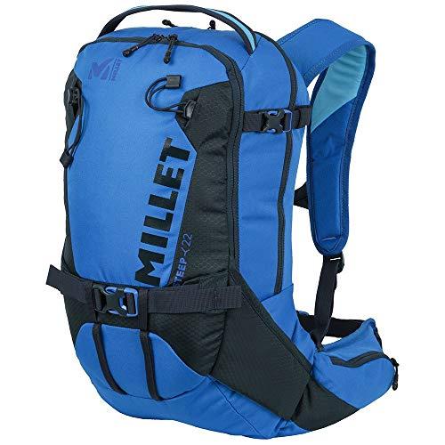 MILLET Steep 22, Unisex-Rucksack für Freeride-Ski, Volumen 22 L, blau