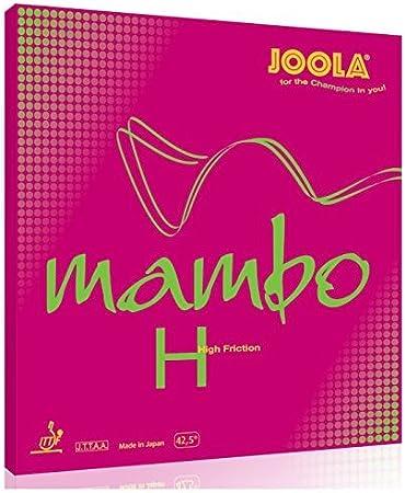 Revestimiento de tenis de mesa JOOLA Mambo H rojo 2,0 mm