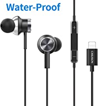 Chilison in-Ear Headphones for iPhone, Magnetic Earbuds HiFi Stereo and Water Resistant MFi Certified Compatible with iPho...