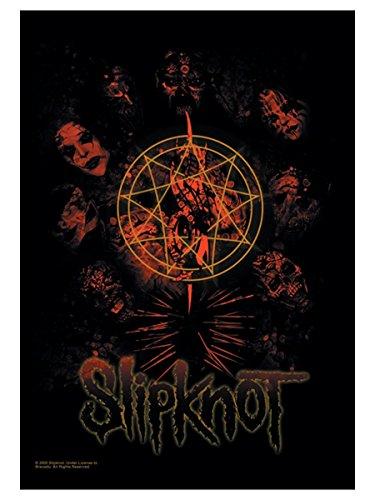 armardi Slipknot Poster Fahne Pentagramm