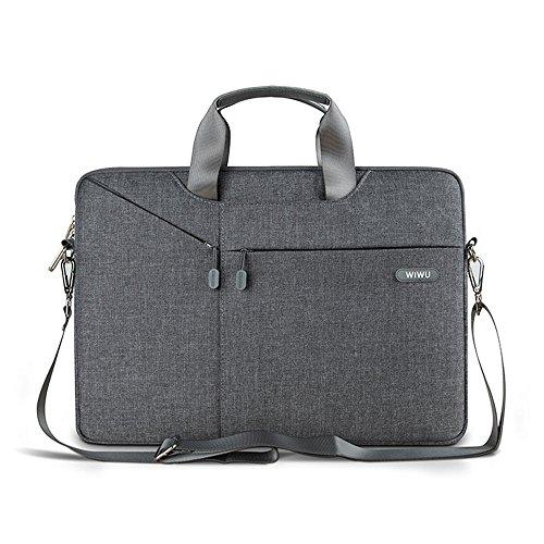 13 - 13.3 Zoll Surface Pro Tasche Wasser beständiger glatt Gewebe Umhängetasche mit Abnehmbar Schultergurt & Tragbar Griff für 13