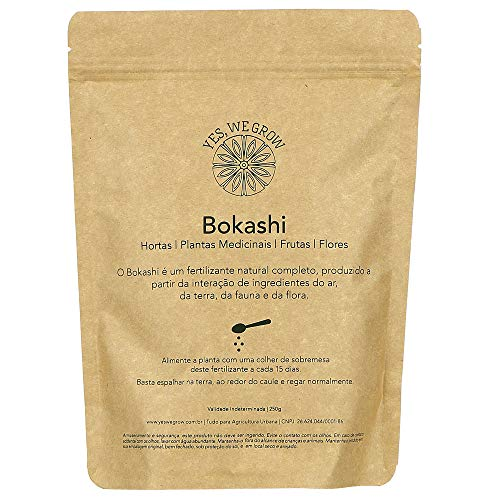 Bokashi Sólido 250 gramas - Yes, We Grow