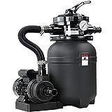 Monzana Depuradora con Bomba para Piscinas o estanques 7.980 L/H y 200W Válvula con 7 Funciones
