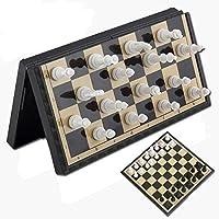 チェス3イン1折りたたみ式磁気セット屋外旅行チェスバックギャモンおもちゃキッズ知的開発チェスの駒チェスを学ぶ